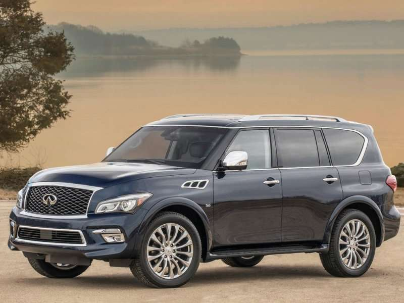 2017 Suvs With The Most Cargo E 10 Infiniti Qx80 95 1 Cubic Feet Overall
