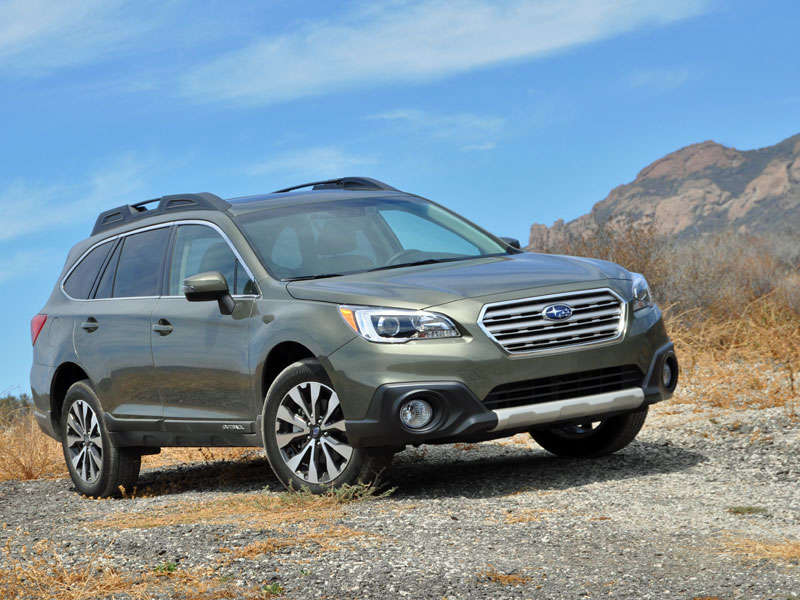 Subaru Forester Towing Capacity >> 2015 Subaru Outback Crossover SUV Review | Autobytel.com