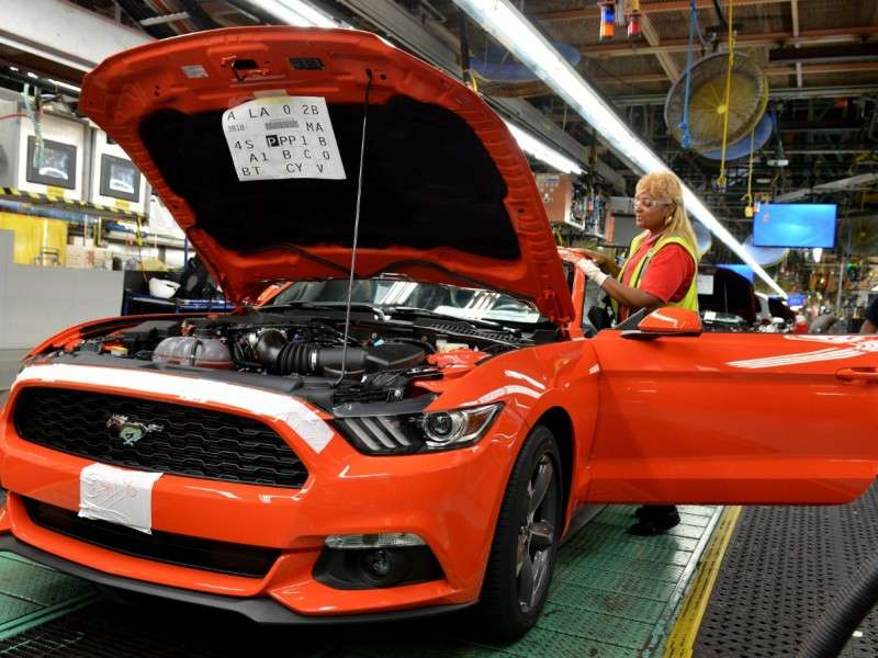 2015 Ford Mustang Production Begins