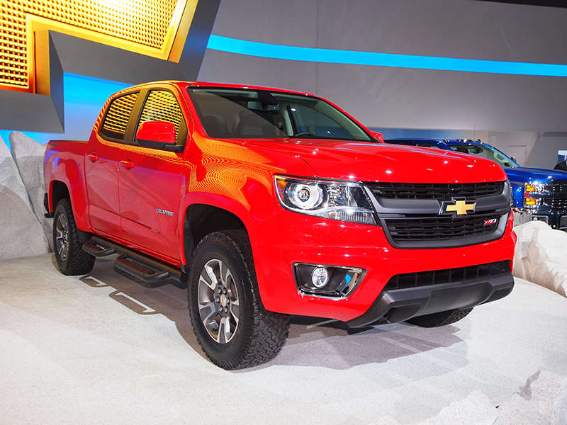 Hiring, Production Ramps up for 2015 Chevrolet Colorado