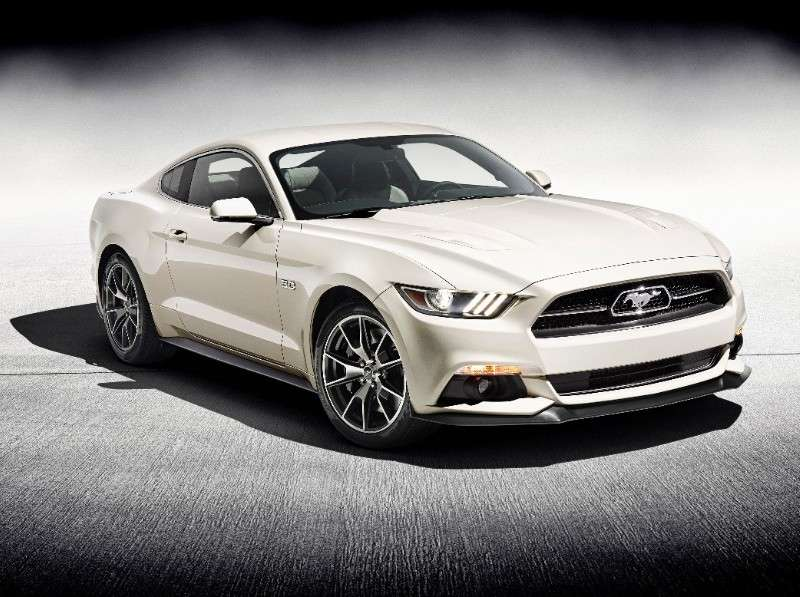 2015 Ford Mustang 50 Years Limited Edition Model Sent to Auction