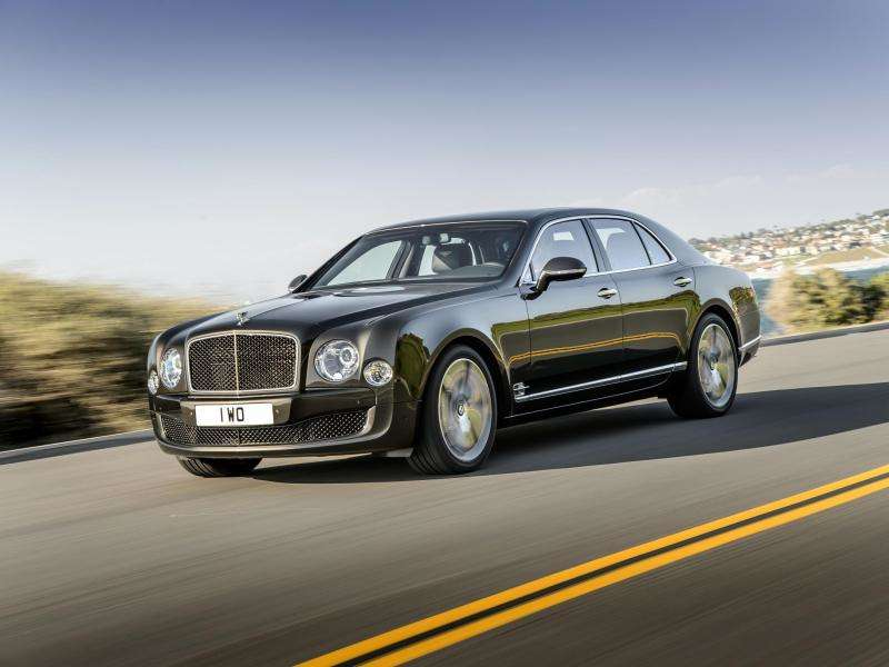 2015 Bentley Mulsanne Speed Unleashes 811 Pound-Feet Of Torque