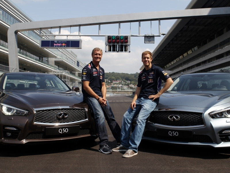 Win Ride with F1 Champ Vettel in 2014 Infiniti Q50 Eau Rouge