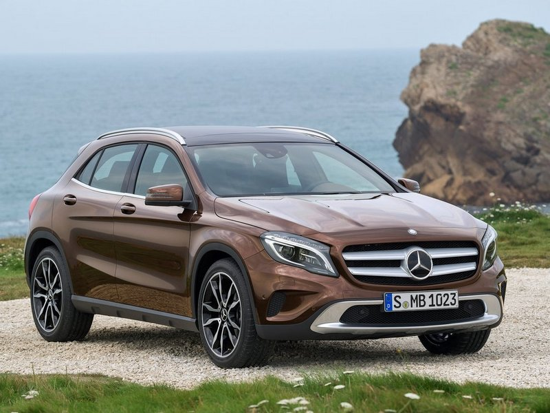 2015 mercedes benz gla class now on sale. Black Bedroom Furniture Sets. Home Design Ideas