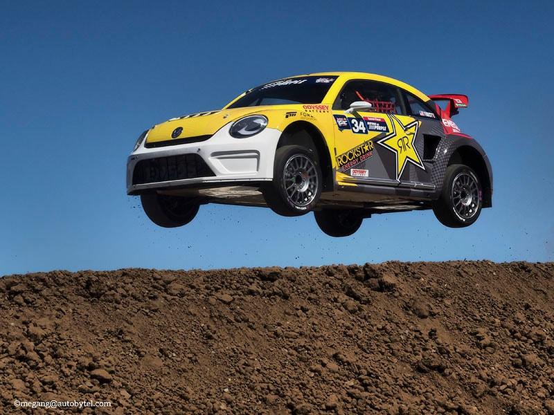 Introducing the Global Rallycross Volkswagen Beetle   Autobytel.com