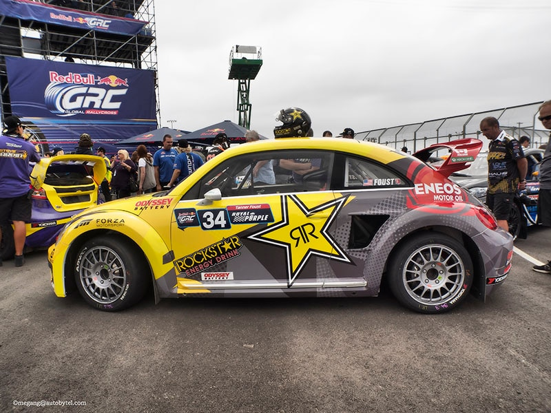 Tanner Foust Vw Beetle >> Introducing the Global Rallycross Volkswagen Beetle | Autobytel.com