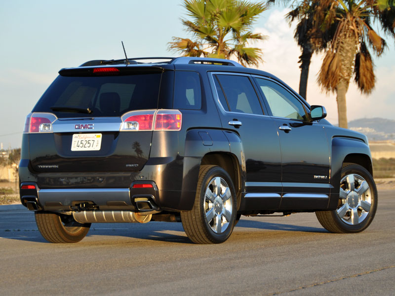 terrain denali cargo review gmc cars the truth about