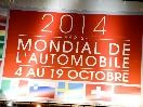 2014 Paris Auto Show Header