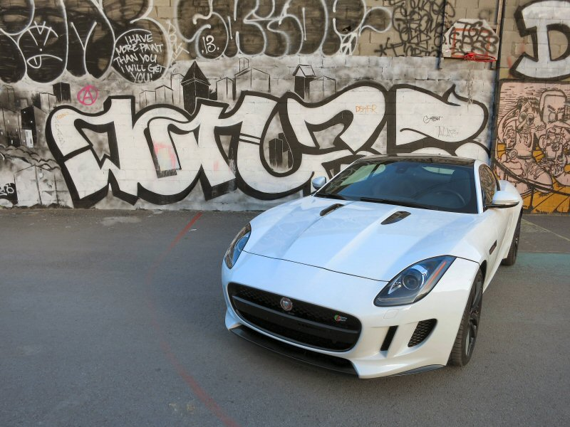 2015 Jaguar F Type S Coupe Luxury Sports Car Review