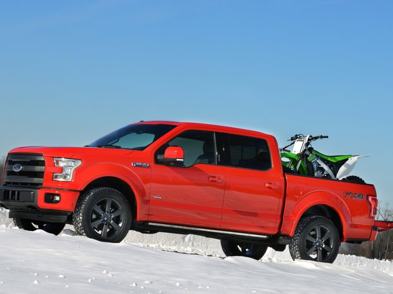 the 2015 ford f 150 is made out of aluminum