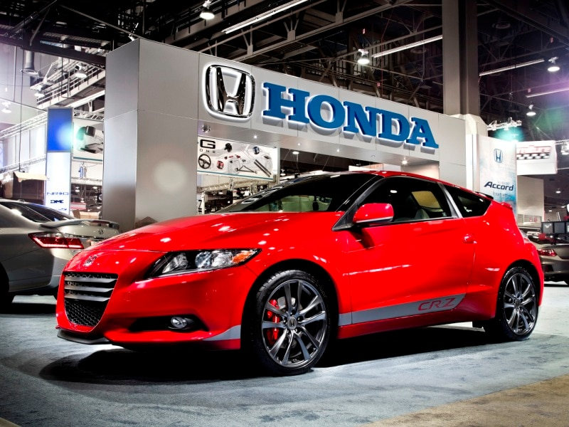 Sales Begin for 2015 Honda CR-Z