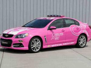 2014 Chevrolet SS Sets Pace for Breast Cancer Awareness Efforts