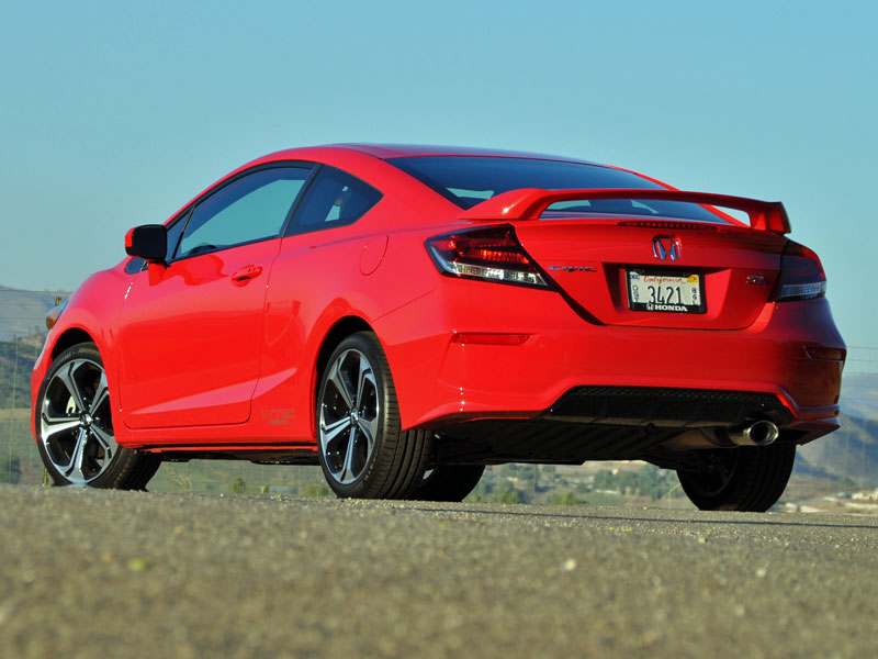 2015 honda civic si coupe review and quick spin. Black Bedroom Furniture Sets. Home Design Ideas