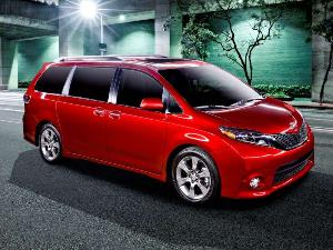 2015 toyota sienna first drive review. Black Bedroom Furniture Sets. Home Design Ideas