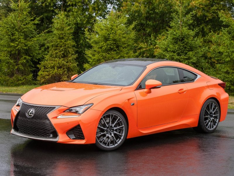 10 things you need to know about the 2015 lexus rc autobytel the 2015 lexus rc f goes whole hog sciox Image collections