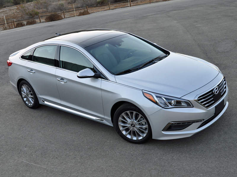No Credit Check Car Lots >> 2015 Hyundai Sonata Review and Road Test | Autobytel.com