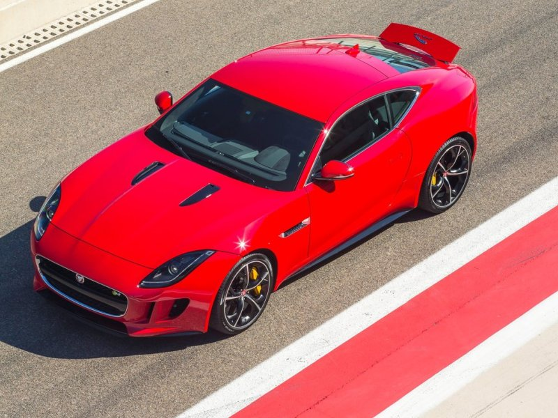Jaguar FType R Coupe To Offer AllWheel Drive Autobytelcom - All wheel drive jaguar