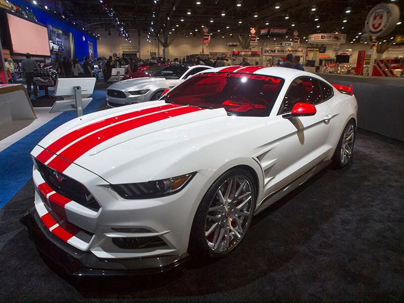 14 Tuned Ford Mustangs At Sema Autobytel Com