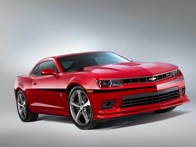 2015 Chevrolet Camaro Commemorative Edition Honors 5th Gen ...