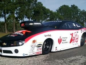 Enders-Stevens Is 1st Female Pro Stock Champ in 2014 Chevrolet Camaro