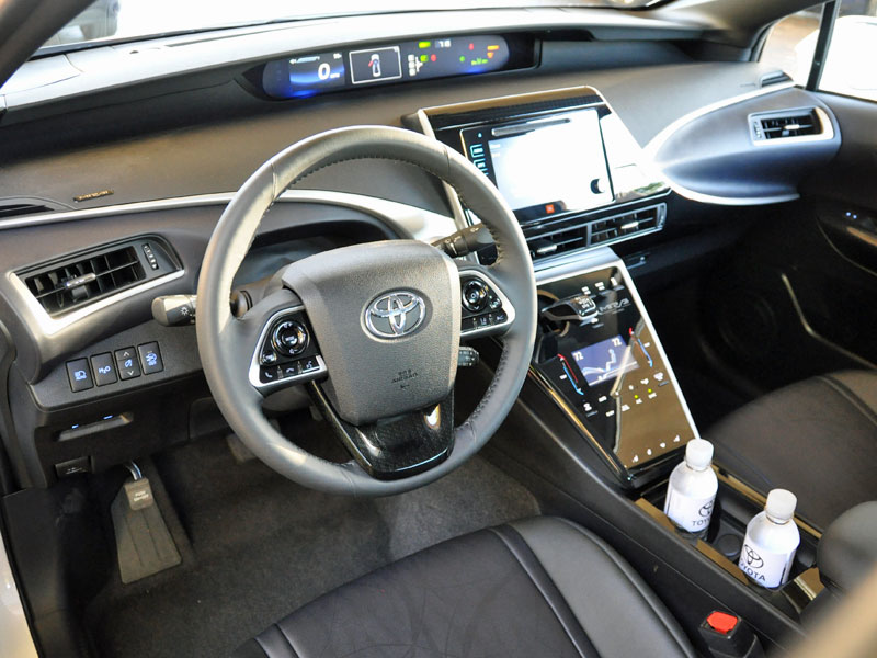 2016 toyota mirai review and first drive. Black Bedroom Furniture Sets. Home Design Ideas
