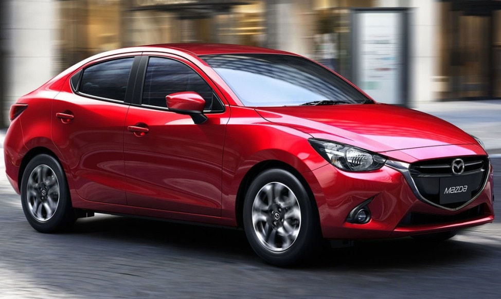2016 Mazda Mazda2 Shows Sedan Body Style In Thailand