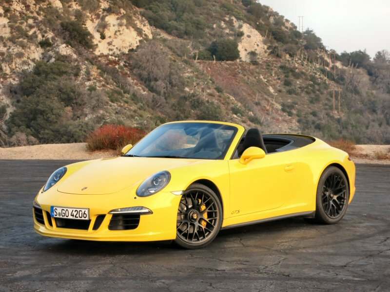 Porsche Carrera GTS Sports Car First Drive And Review - Sports car reviews