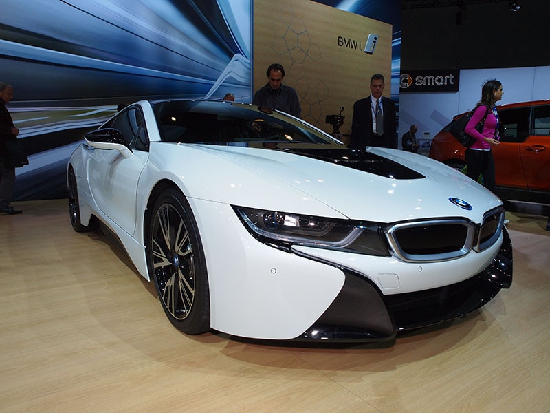 Superior The 2015 BMW I8 Fares Reasonably Well At The Fuel Pump