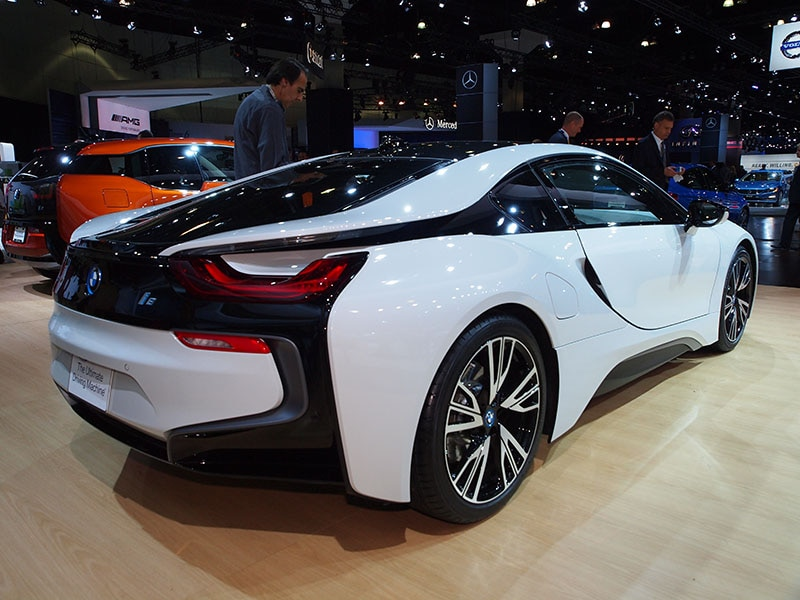 The 2015 BMW I8 Steps Into The Future Of Design