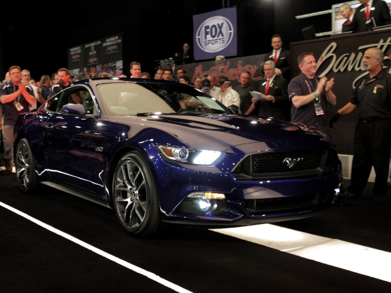 Evolution of a Modern Muscle Car: 2015 Ford Mustang