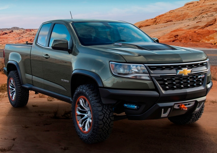 2015 Chevrolet Colorado ZR2 Previews Possible Off-road ...