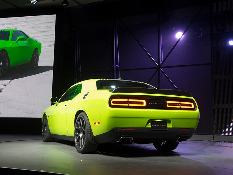 2015 Dodge Challenger Becomes 5-Star Safety Champ