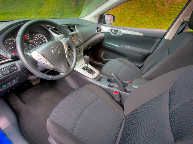 Good The Range Topping 2015 Nissan Sentra SL Caps Things Off With Now Standard  Features From The Previous Leather Package, Highlighted By A Heated Front  Row And ...