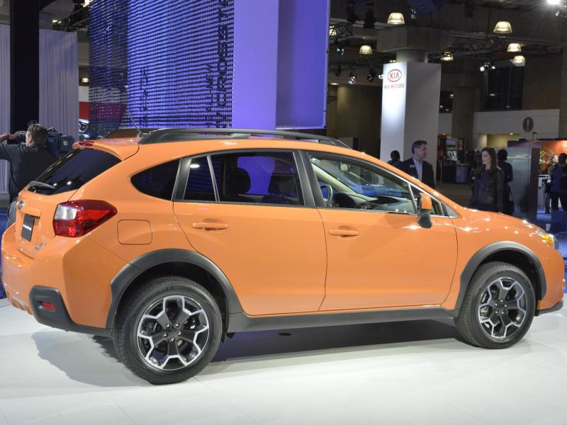2015 subaru xv crosstrek leads brand to top safety pick sweep. Black Bedroom Furniture Sets. Home Design Ideas