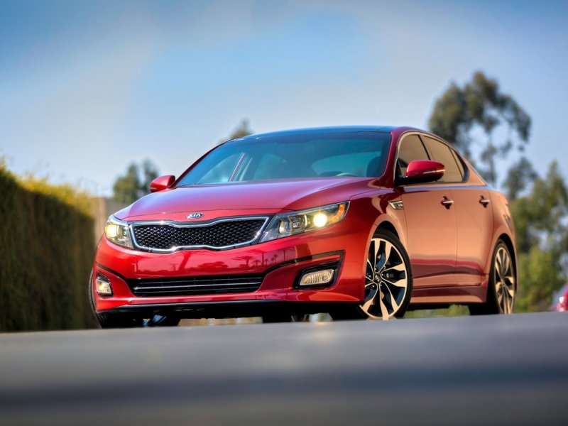 2015 kia optima road test review. Black Bedroom Furniture Sets. Home Design Ideas