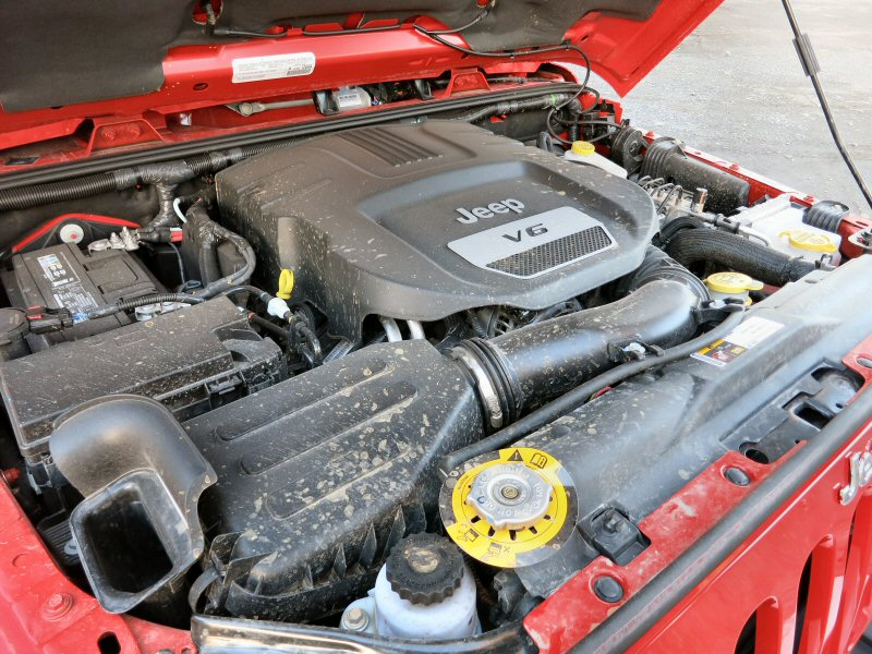 2015 Jeep Wrangler Unlimited Sahara Review: Engines And Fuel Economy