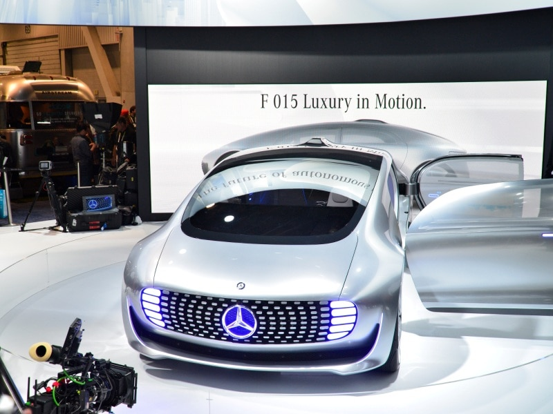 Mercedes-Benz F 015 Concept Kicks off Mobility Revolution at 2015 CES
