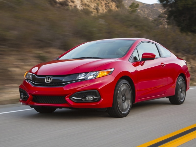 2015 honda civic coupe quick spin review. Black Bedroom Furniture Sets. Home Design Ideas
