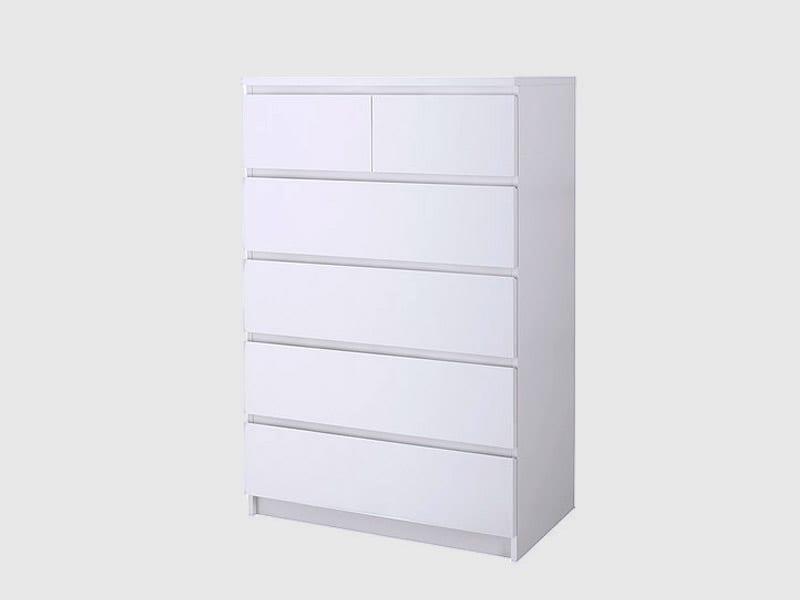 Ikea Malm Dresser White