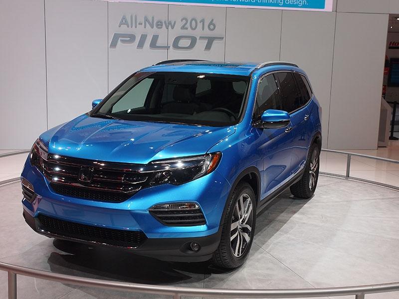2016 Honda Pilot Preview 2015 Chicago Auto Show Autobytelcom