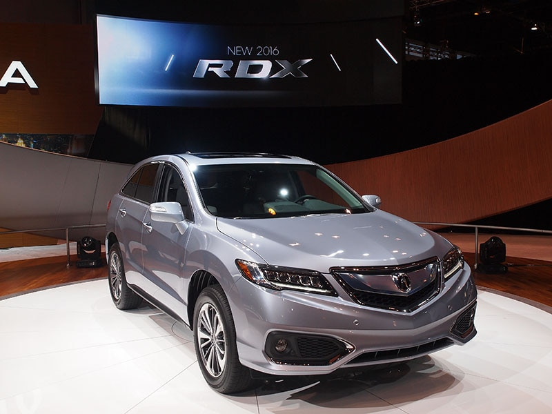 2016 acura rdx preview 2015 chicago auto show autobytel com
