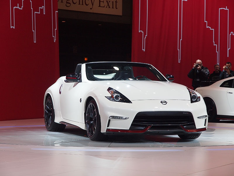 Nissan 370z Nismo Roadster Concept Preview 2017 Chicago Auto Show