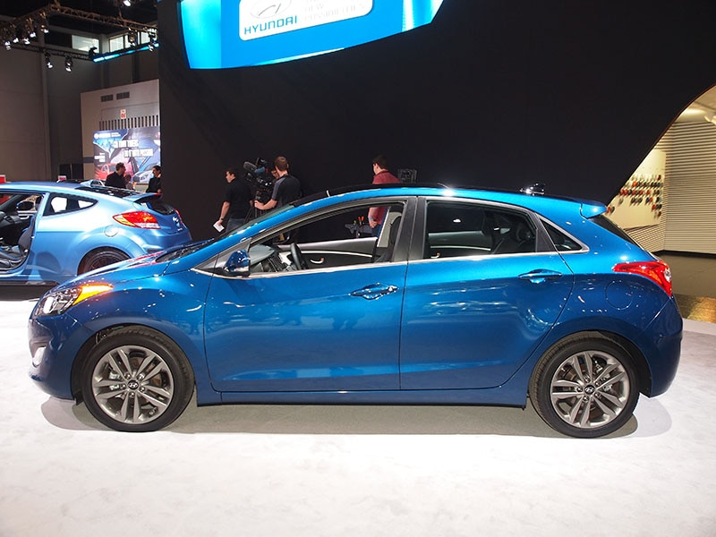 2016 Hyundai Elantra GT Preview: 2015 Chicago Auto Show