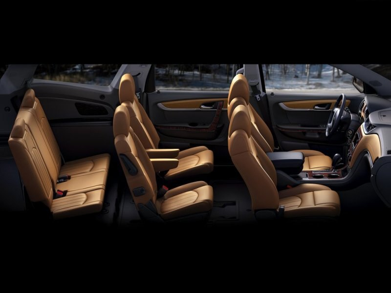 chevy traverse captains chairs