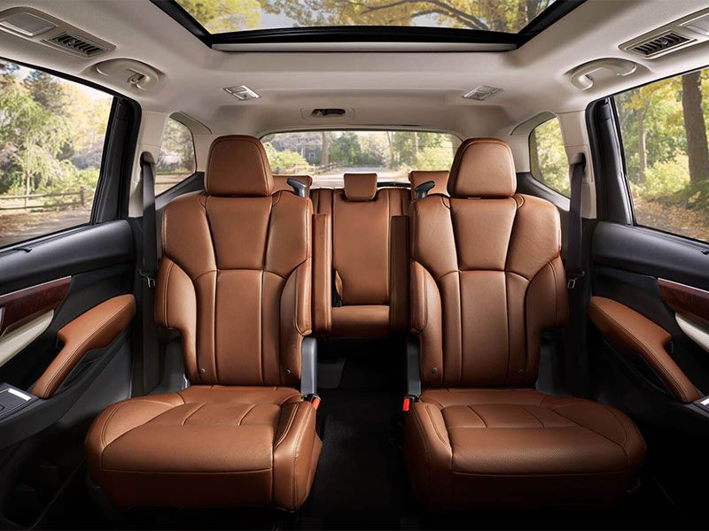2019 Subaru Ascent 2nd row captains chairs
