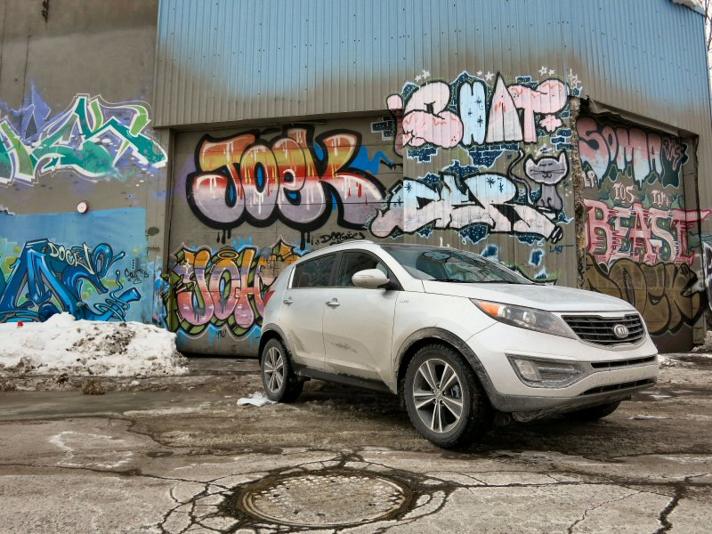 2015 Kia Sportage Road Test And Review