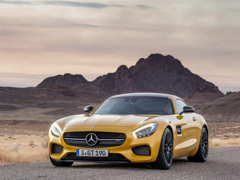 Beautiful 2016 Mercedes AMG GT