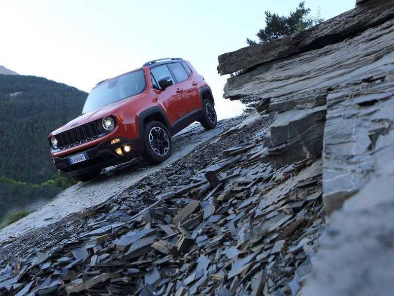 Hunting For Easter Eggs In The Jeep Renegade Autobytel Com