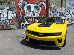 2013 Chevrolet Camaro ZL1 Convertible Road Test and Review