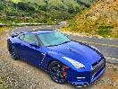 2015 Nissan GT-R Black Edition front 3/4
